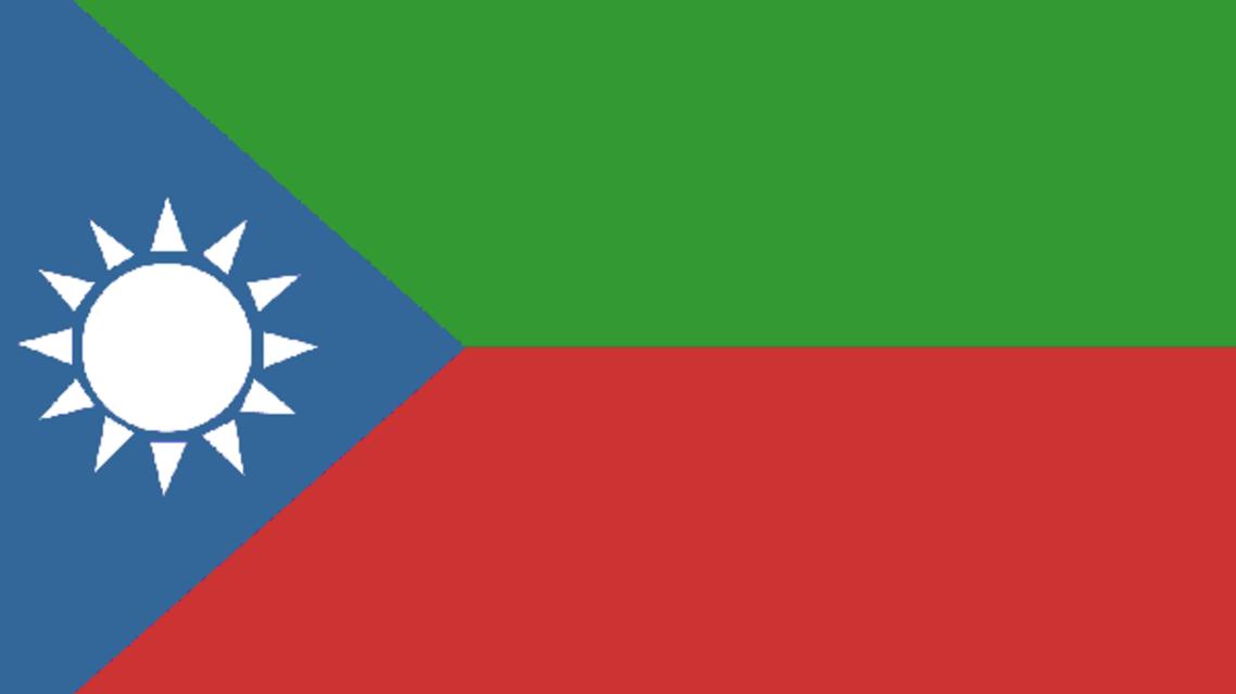بلوچستان لبریشن آرمی کا جھنڈا