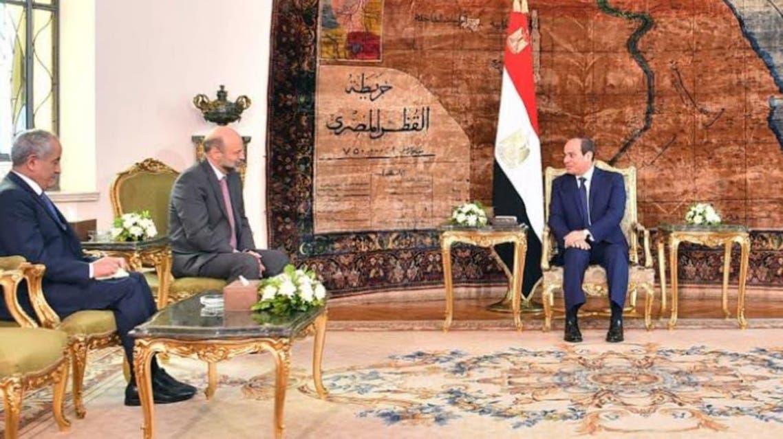 Egypt: Abdul fatah sisi met with delegaion of jorden