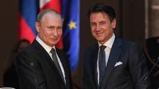 Putin, visiting Italy, says he hopes Rome can help mend Moscow-EU ties