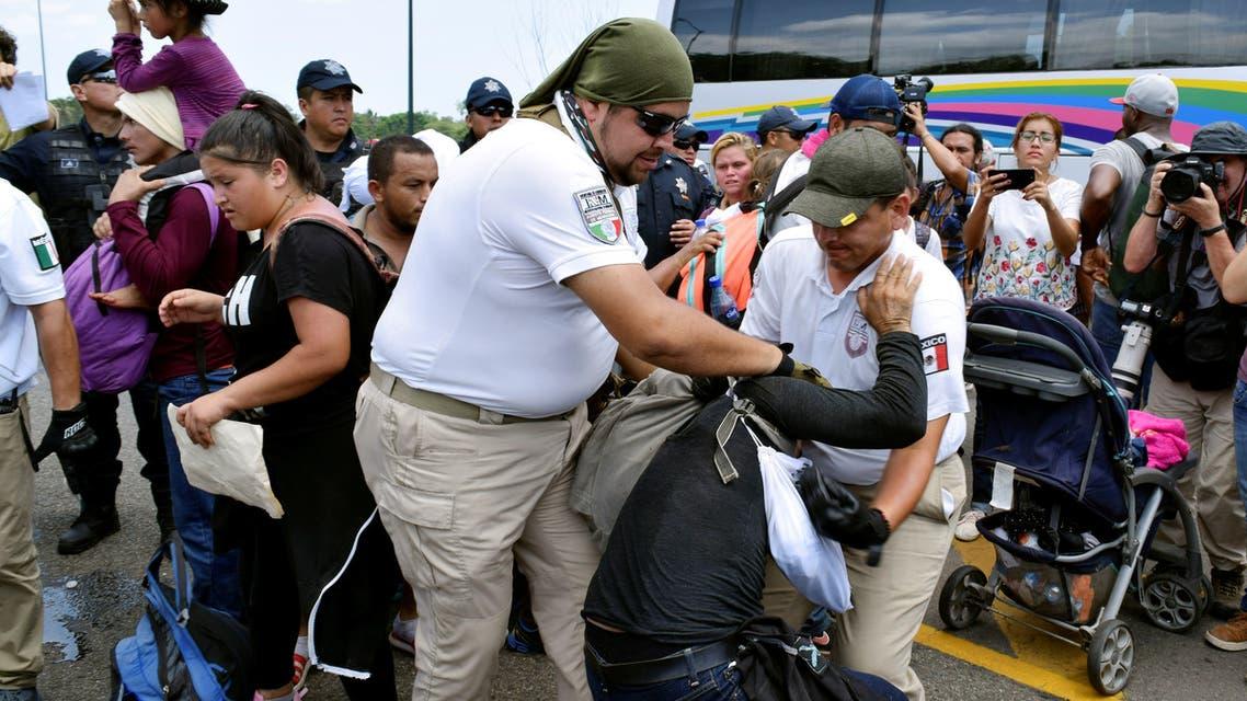 مهاجرون في الولايات المتحدة (رويترز)
