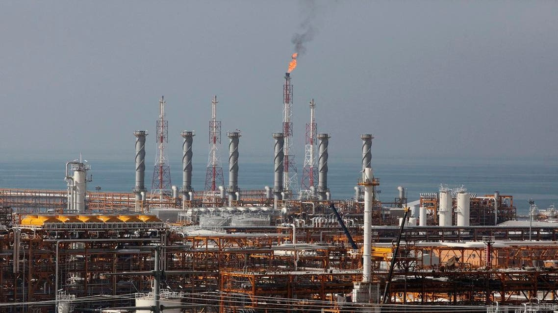 A partially constructed gas refinery at the South Pars gas field is seen in Asalouyeh, Iran. (File photo: AP)