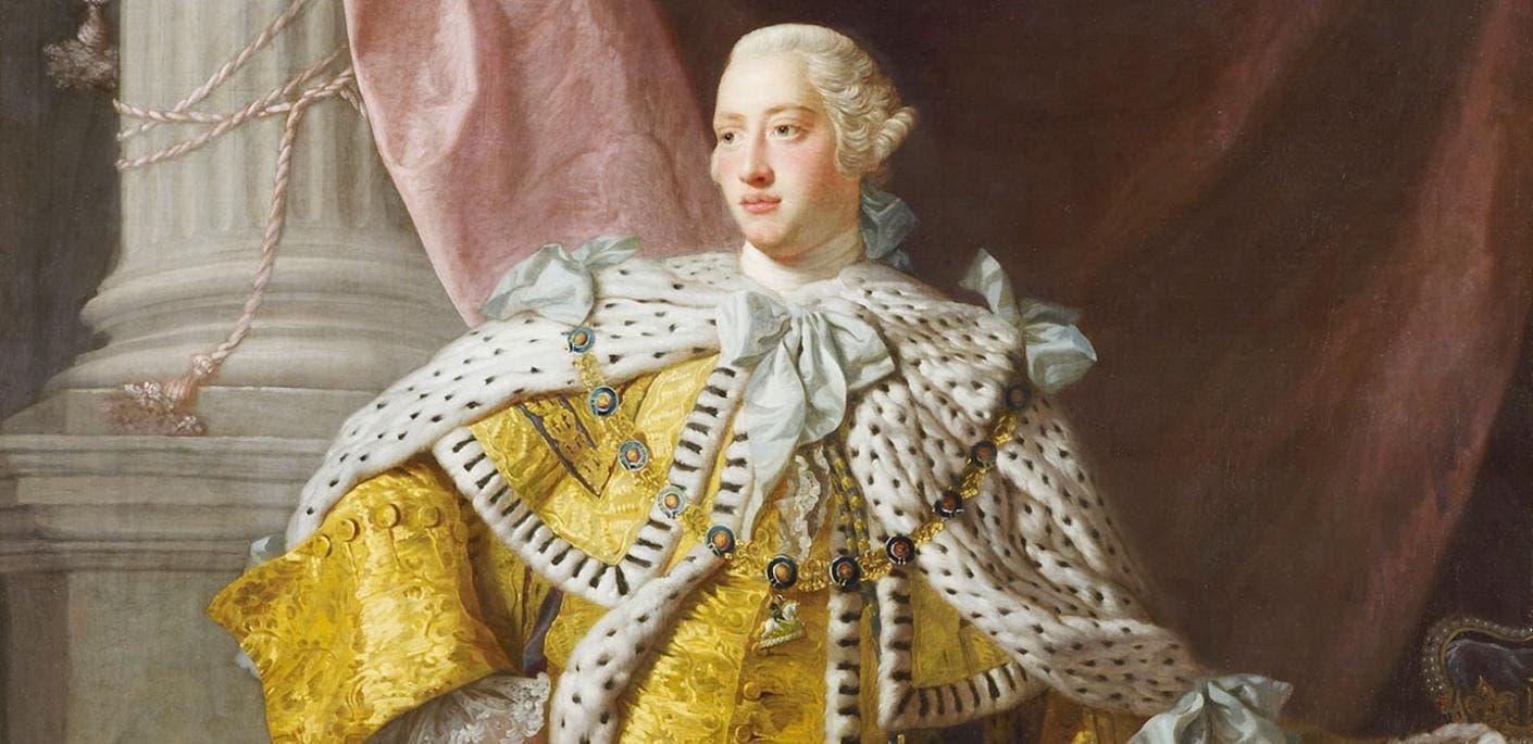 صورة لملك بريطانيا جورج الثالث