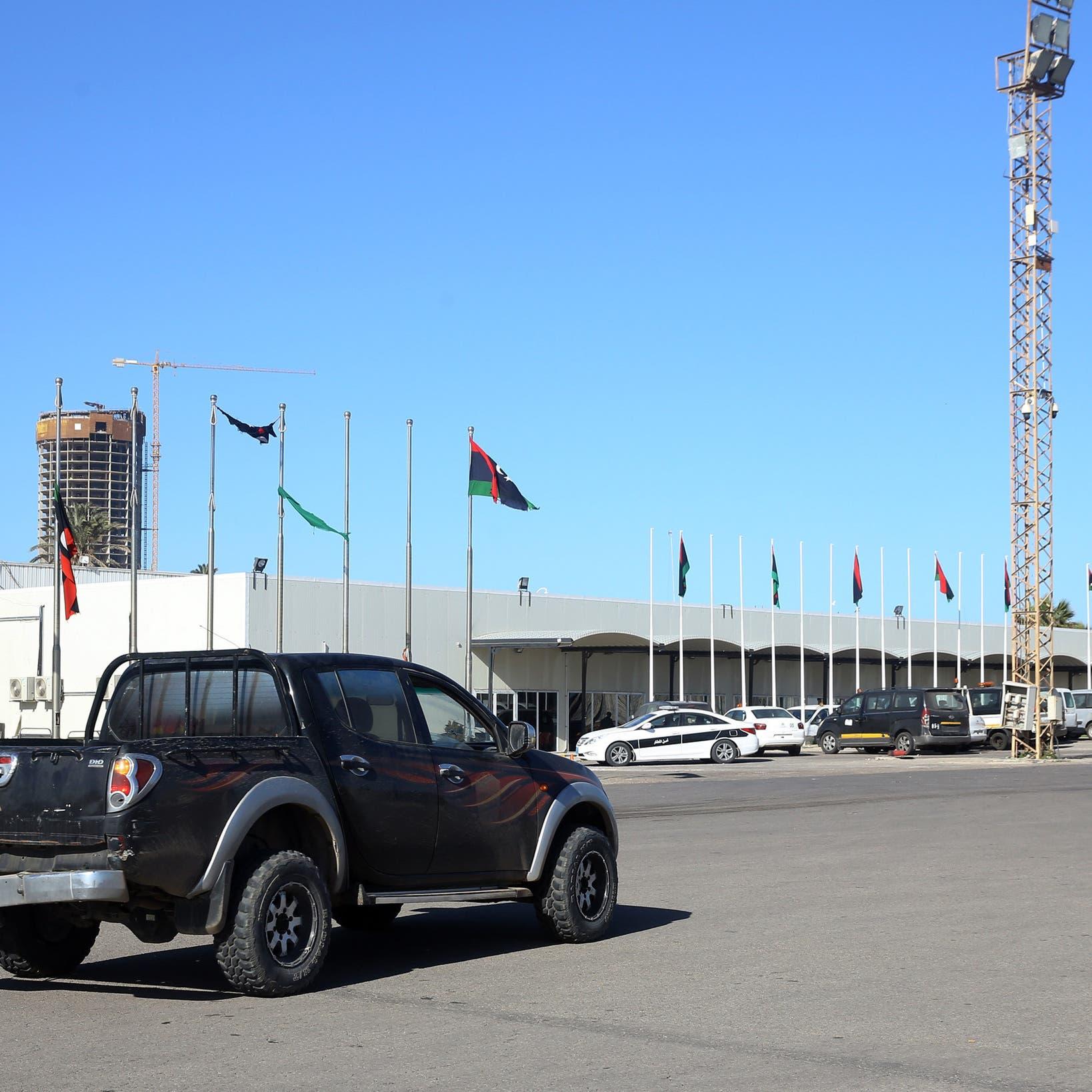 غارتان للجيش الليبي على مطار معيتيقة في طرابلس