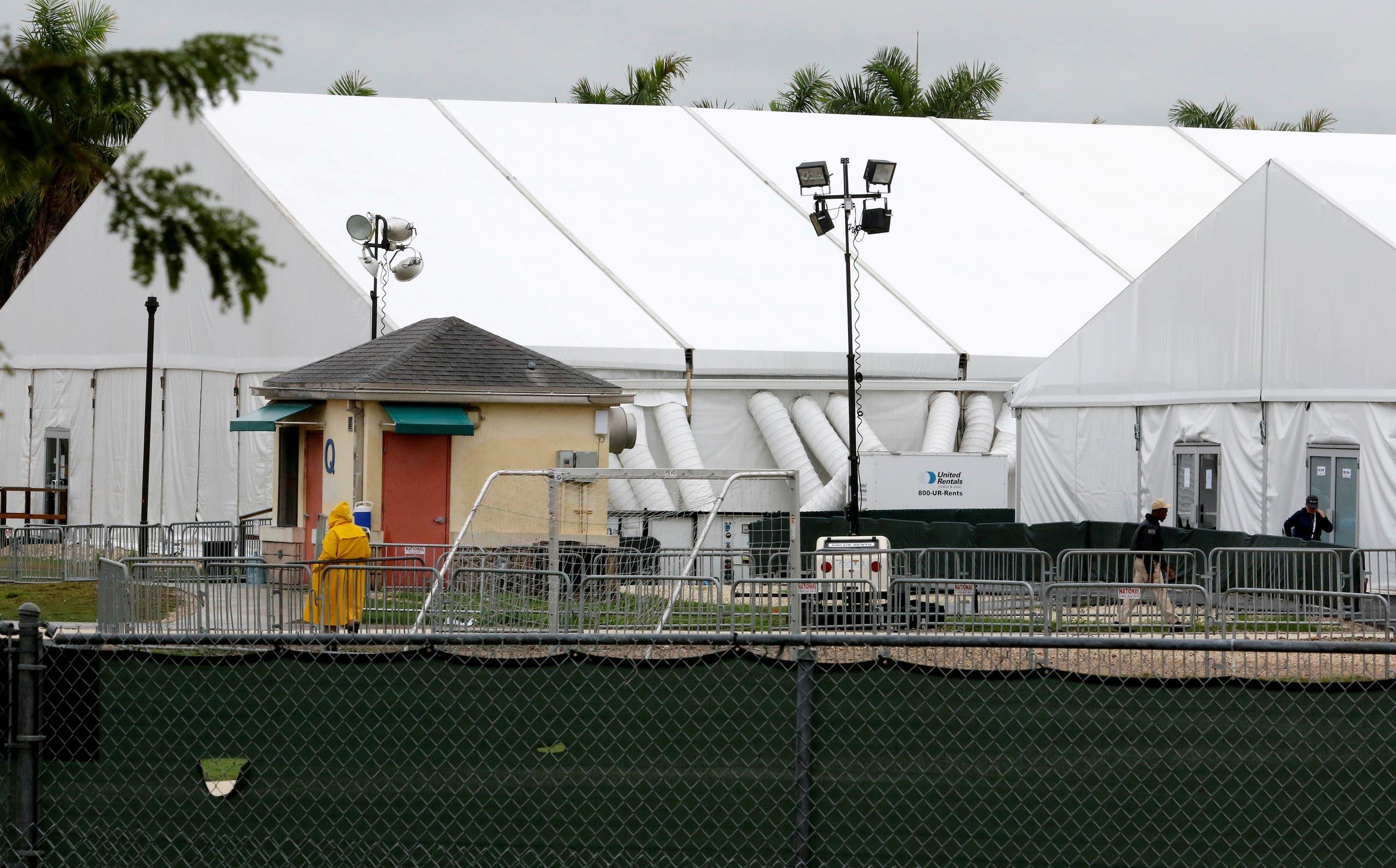 مركز احتجاز للمهاجرين في الولايات المتحدة(رويترز)