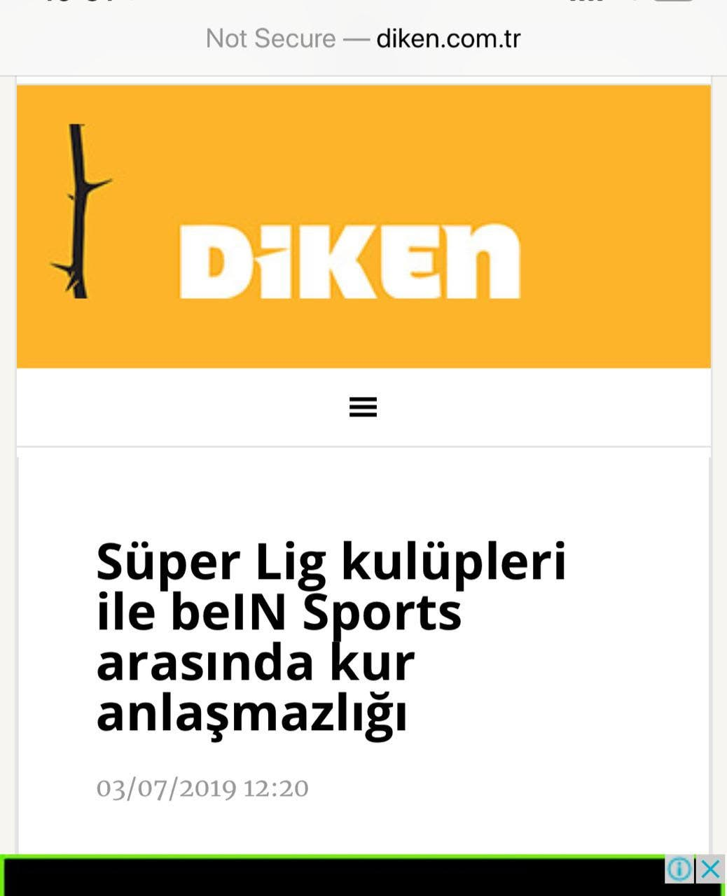 """تقرير صحيفة """"ديكان"""" التركية"""