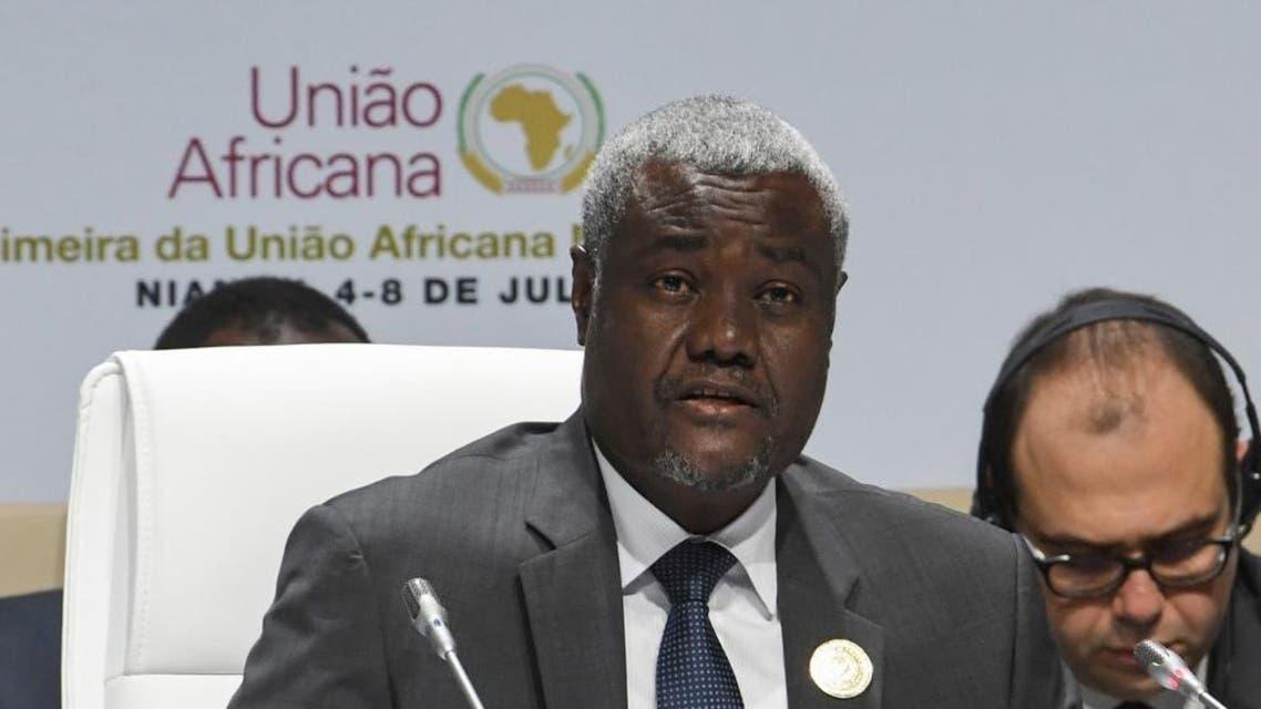 Moussa Faki Mahamat AFP