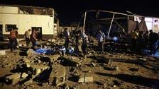 Libyan officials: Airstrike kills 7 workers in Tripoli