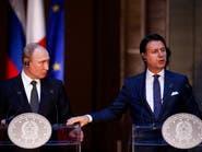 بوتين لرئيس وزراء إيطاليا: الوضع في ليبيا يجب أن يحل سلمياً