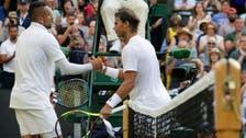 Plenty of dramatics as Nadal tops Kyrgios at Wimbledon