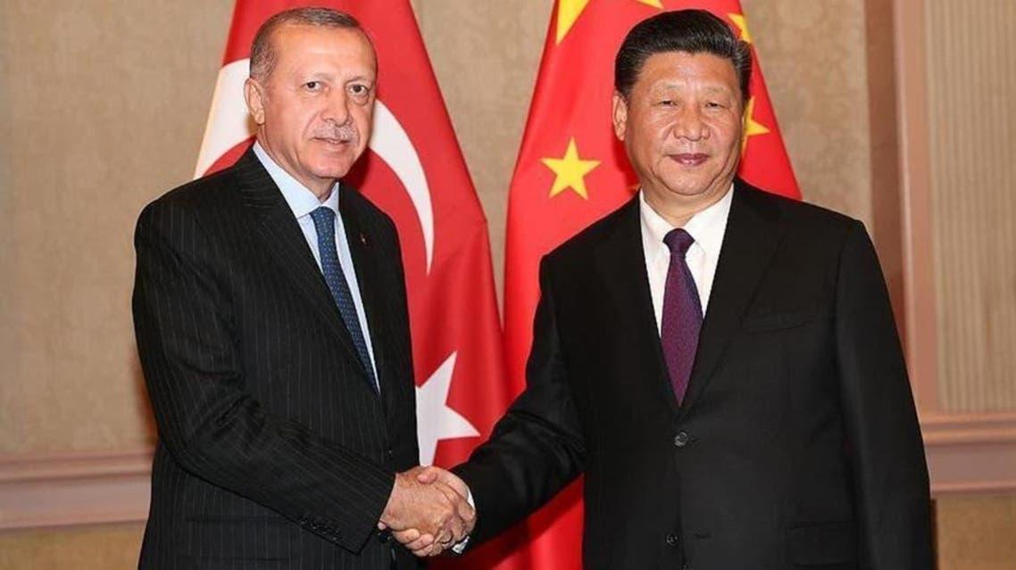 erdogan and Xi Jinping