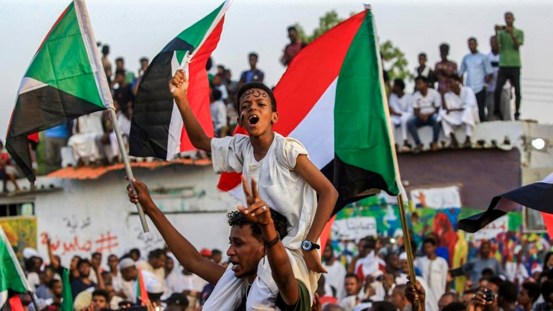 sudan celebrations afp