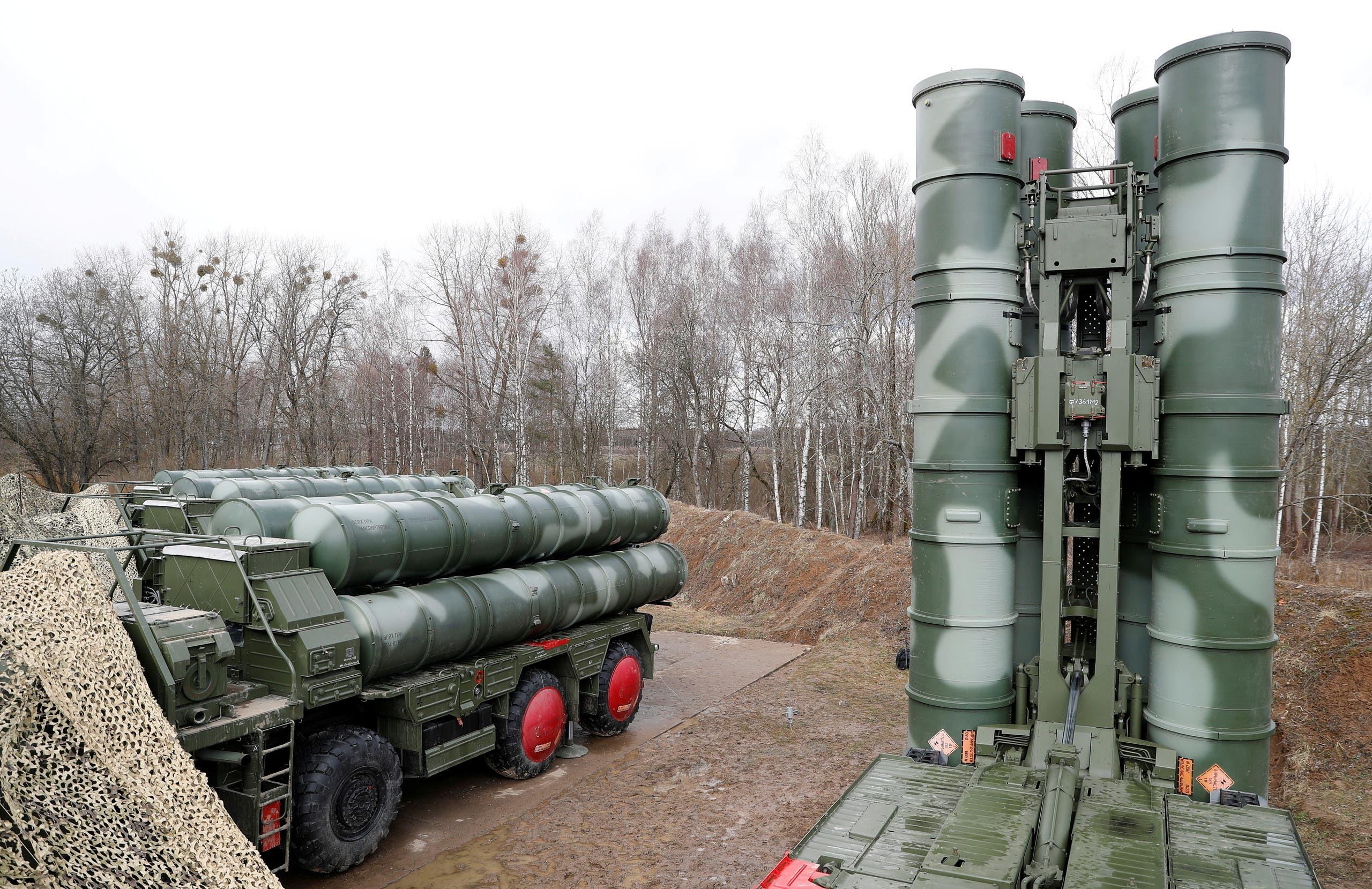 منظومة صواريخ اس 400 الروسية
