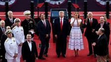 With tanks and flyovers, Trump celebrates military in July 4 salute