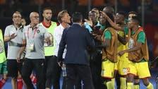 لاعبو بنين يعيشون نشوة الإنجاز الأكبر في تاريخ منتخب بلادهم