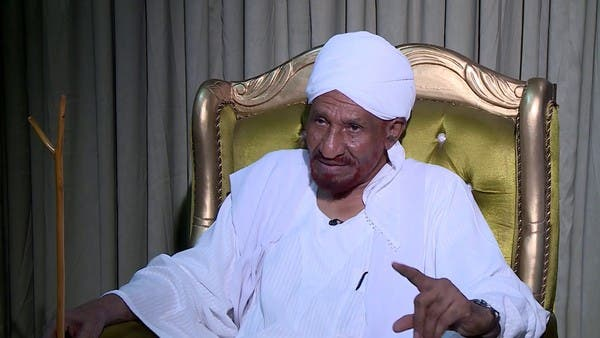 المهدي: نوصي بشخصيات غير حزبية للترشح للسيادي السوداني