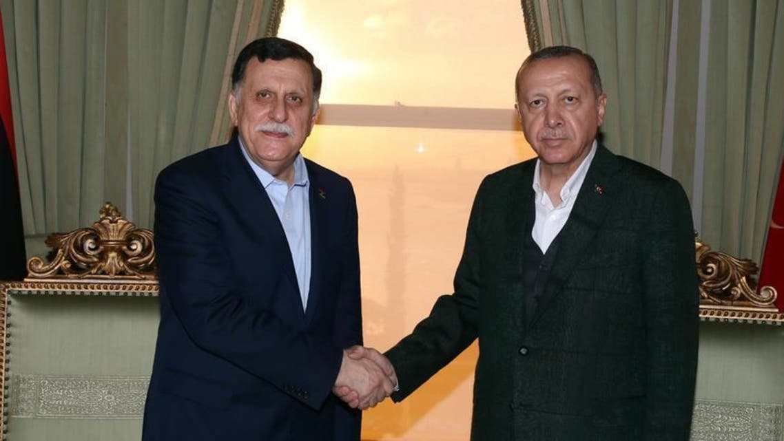 السراج أردوغان