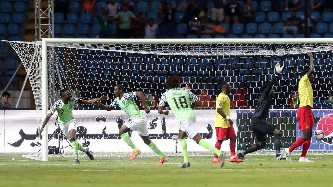 نيجيريا الكاميرون