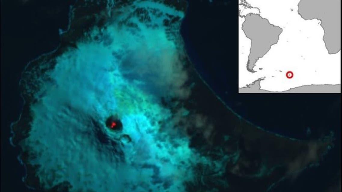 کشف هشتمین دریاچه آتشفشان دار جهان