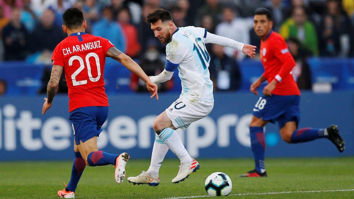 الأرجنتين تشيلي