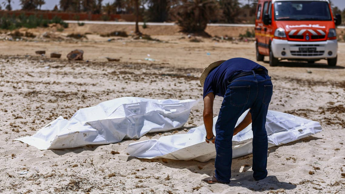 انتشال جثث مهاجرين قبالة سواحل تونس