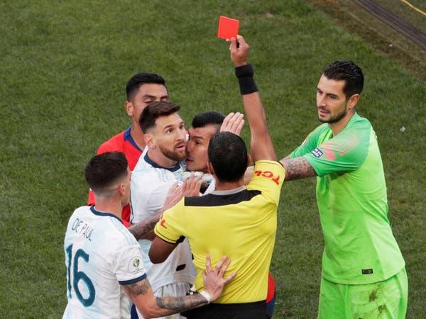 """اتحاد أميركا الجنوبية: ميسي """"قلل"""" من احترام مئات اللاعبين"""