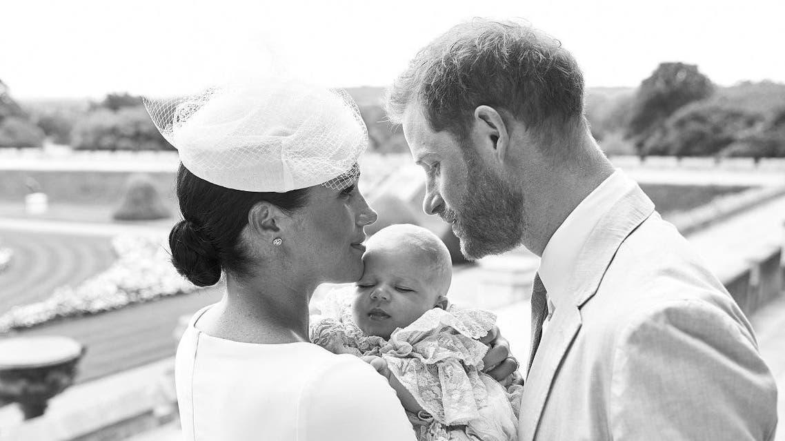 Christening ceremony for baby Archie, son of the Duke and Duchess of Sussex, at Windsor Castle. (Chris Allerton/ via Reuters)