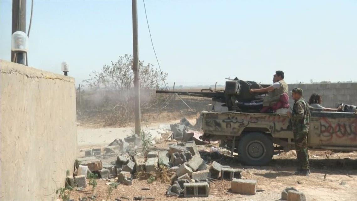 معركة جديدة بين الجيش الليبي وقوات الوفاق في طرابلس