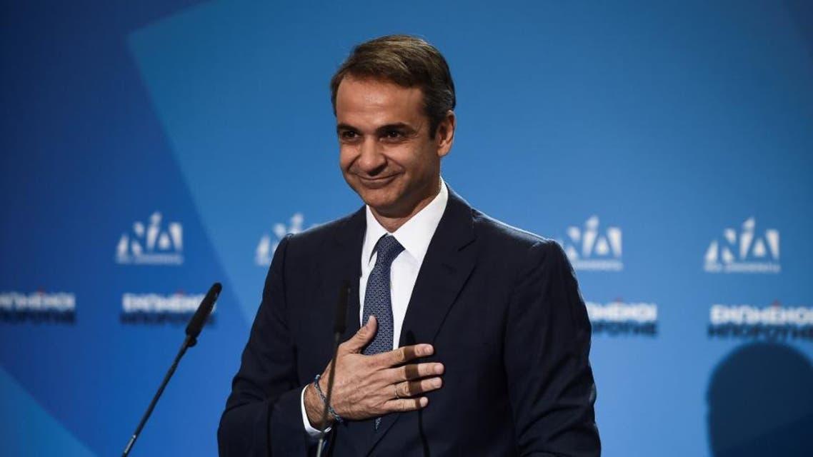 Kyriakos Mitsotakis AFP