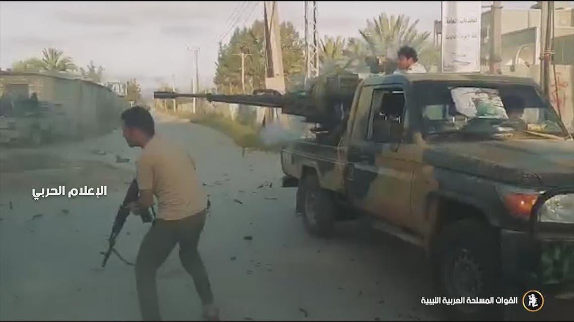 THUMBNAIL_ الجيش الليبي يصد هجوما للكتائب الموالية للوفاق جنوب طرابلس