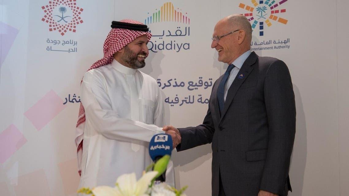 The memorandum was signed at GEA's headquarters in Riyadh by GEA CEO Amr Bin Ahmed Banaja and Qiddiya's CEO Michael Reininger.