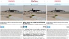 امریکا کے پولیٹیکو نیوز لیٹر میں قطر کے حق میں تشہیری لوازمے کی بھرمار
