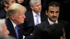 """ترمب لأمير قطر: وسعنا قاعدة """"العديد"""" بأموالكم لا بأموالنا"""