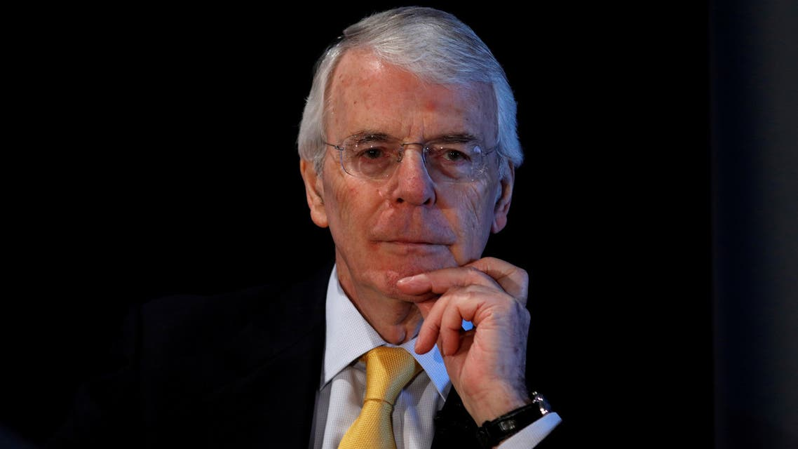 FILE PHOTO: Britain's former Prime Minister John Major gives a speech on Brexit in London, February 28, 2018. REUTERS/Peter Nicholls/File Photo
