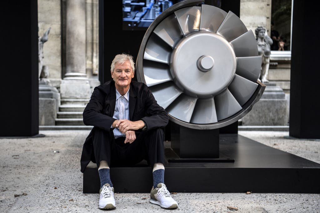 British billionaire James Dyson. (File photo: AFP)