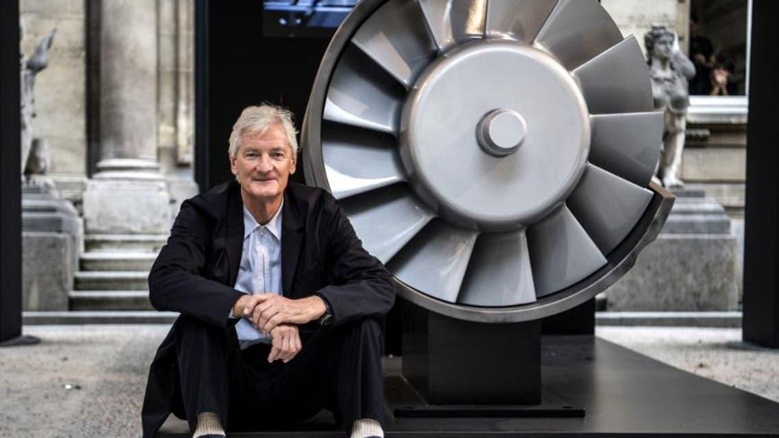 British billionaire James Dyson AFP