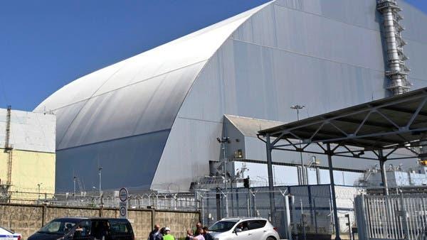 أوكرانيا: افتتاح حاجز ضد الغبار المشع في مفاعل تشرنوبيل