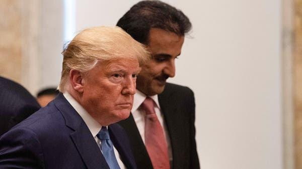 كاتب أميركي لترمب: يجب مواجهة أمير قطر بإيوائه داعية التطرف القرضاوي