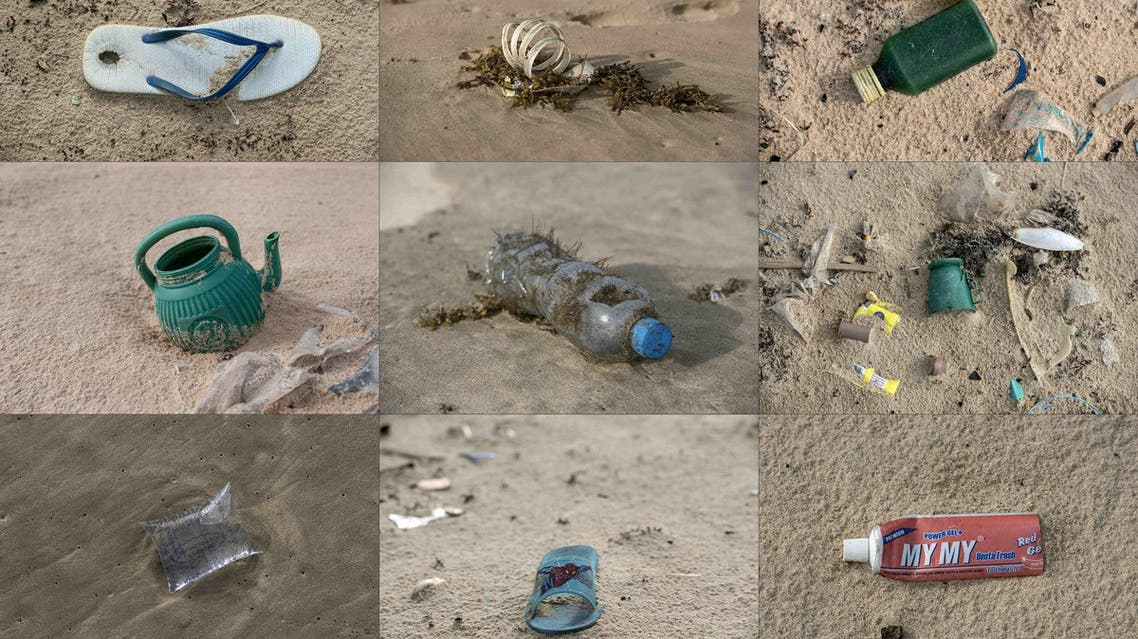 8 million tons of plastic ended up in the sea every year where it broke down into tiny fragments