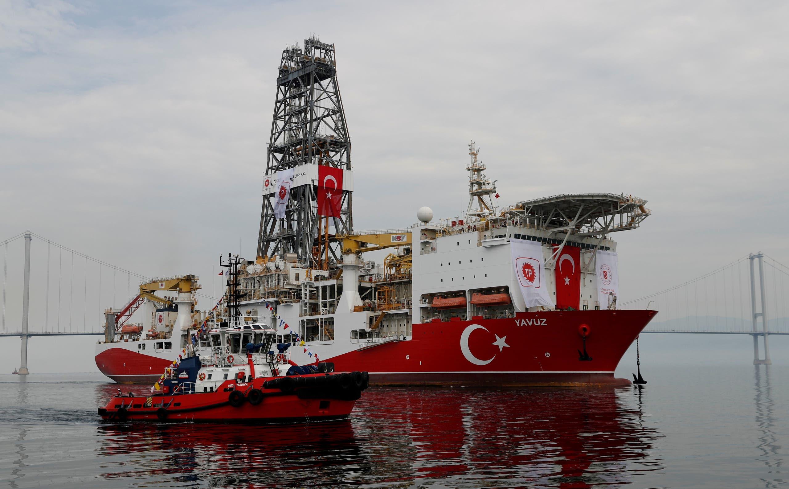 سفينة حفر تركية