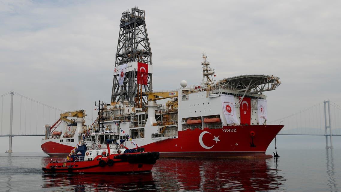 سفينة الحفر التركية