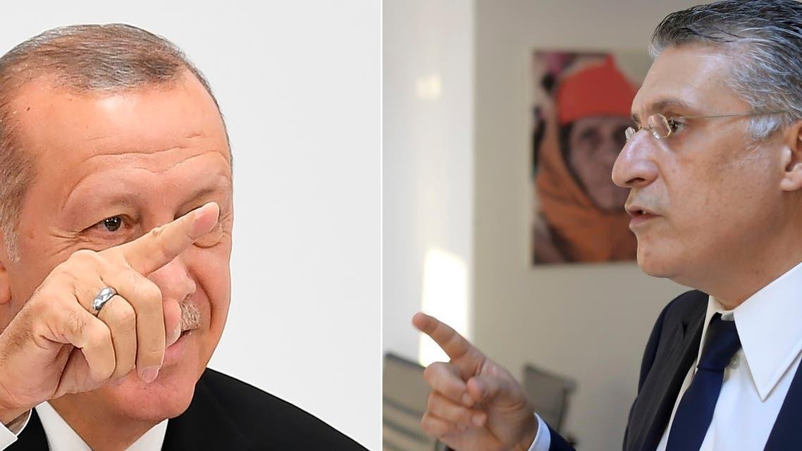 نبيل القروي رجب طيب أردوغان