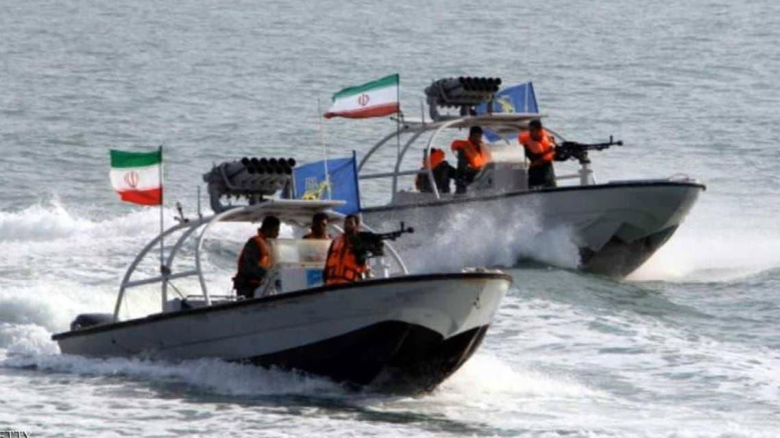 زوارق إيرانية تتحرش بناقلة بريطانية في الخليج