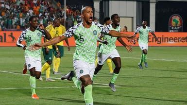 """نيجيريا تبلغ نصف النهائي بهدف """"قاتل"""""""