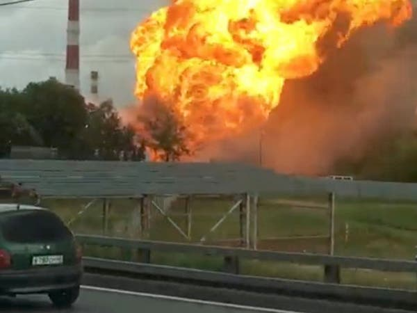 """موسكو.. قتيل وجرحى بحريق """"هائل"""" في محطة طاقة"""