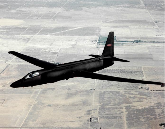صورة للطائرة الأميركية لوكهيد يو 2
