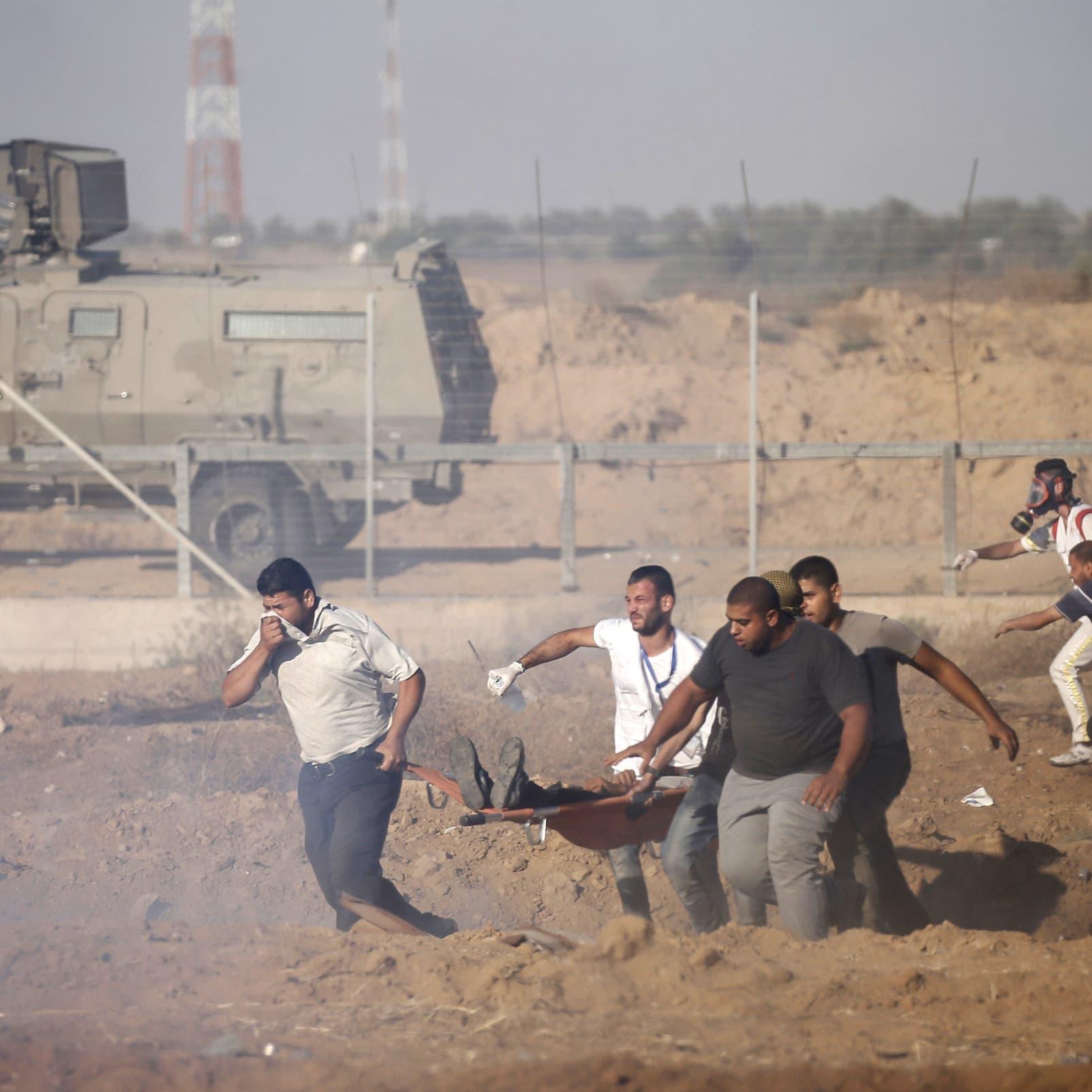 دبابة إسرائيلية تقتل فلسطينياً على حدود غزة