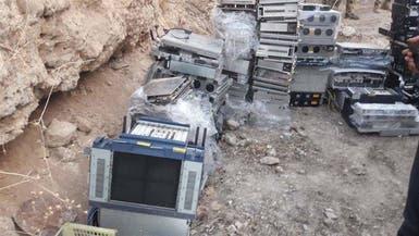 """العراق.. ضبط بعض """"سيرفرات"""" داعش الإعلامية"""