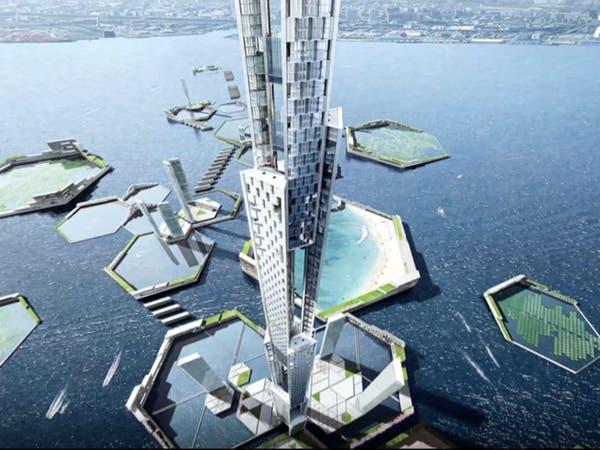 """اليابان تتحدى السحاب ببناء أطول من """"برج خليفة"""" مرتين!"""