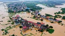 الصين تجلي 80 ألف شخص بسبب الأمطار الغزيرة والسيول