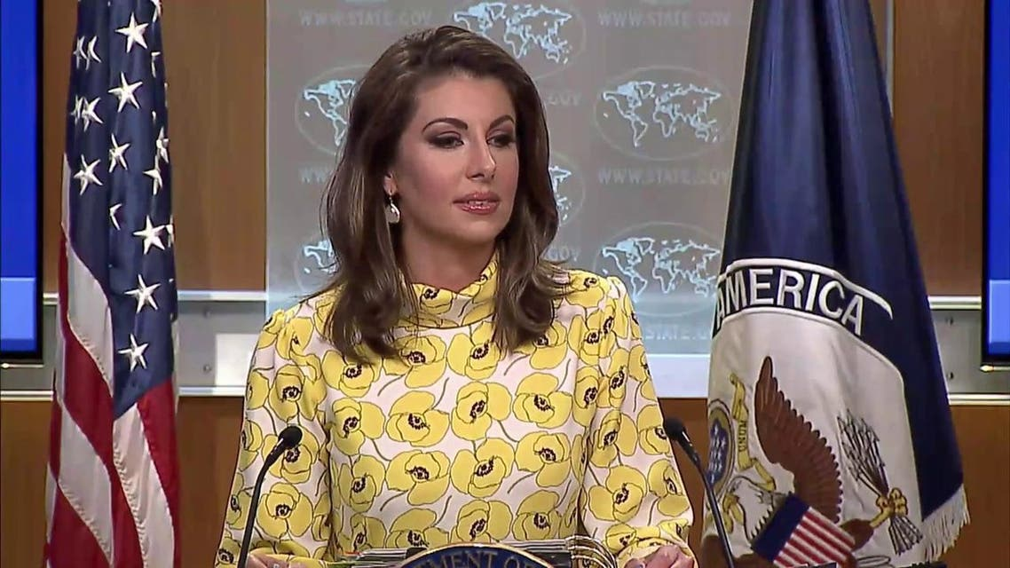 مورگان اورتیگاس سخنگوی وزارت امور خارجه ایالات متحده